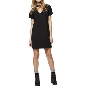 Shift Sanctuary Madeline Choker Neck Dress Black